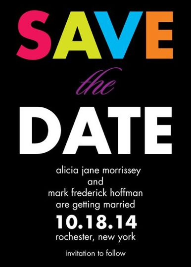 Save-the-Date Products