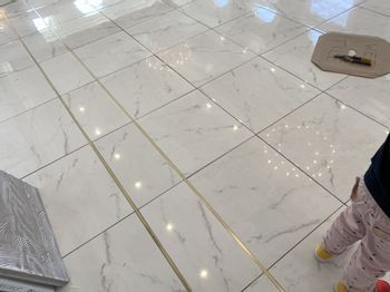 Floor Detail with Gold