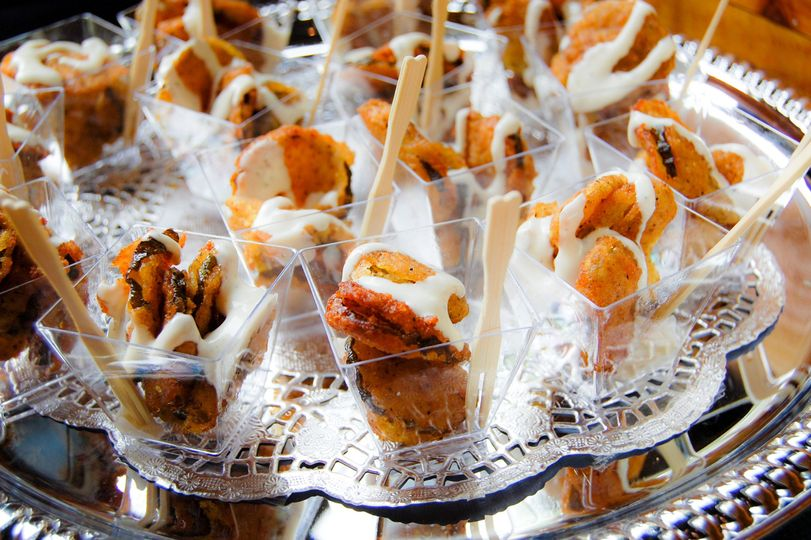 Fried pickles Hors D'oeuvres