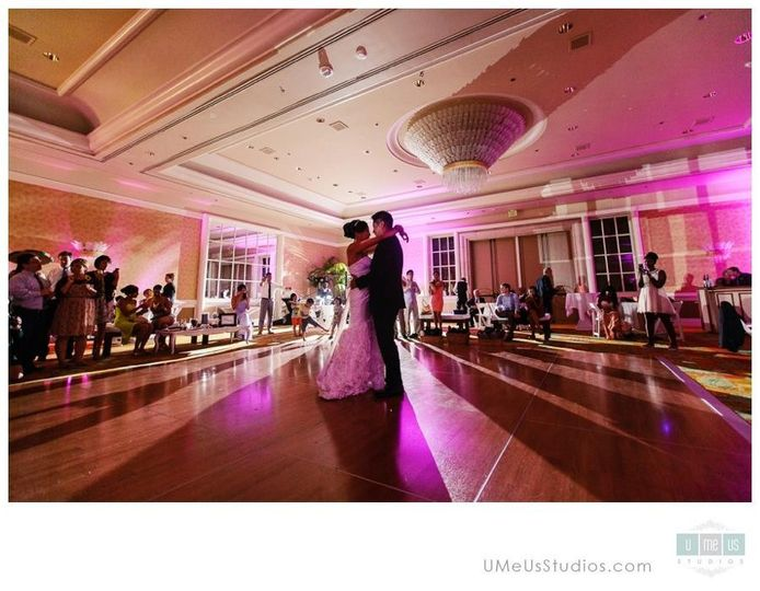 First dance at Four Seasons with Darren & Evonne Wong