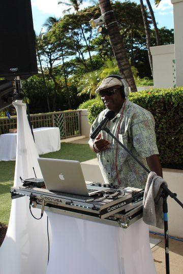 DJ Ron at wedding reception