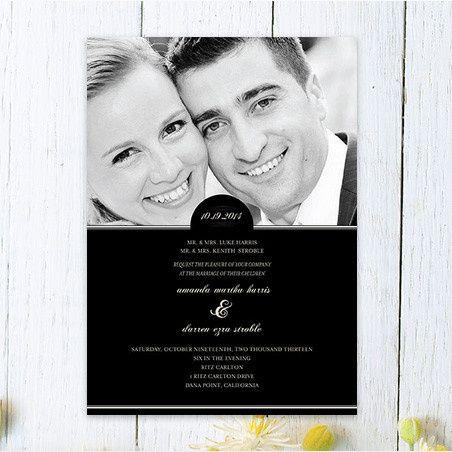 Evening Affair Wedding Invitation | Oubly.com