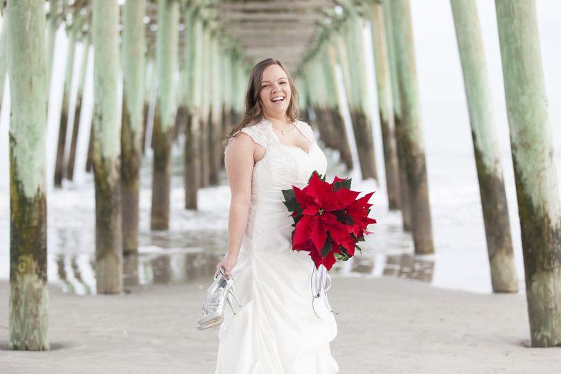 Bride in Myrtle Beach, SC