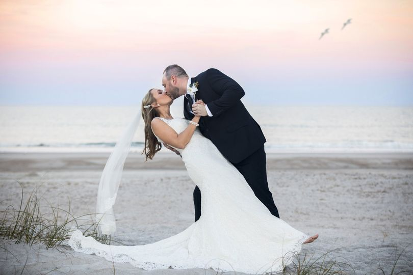 Bride & Groom in Amelia Island, FL