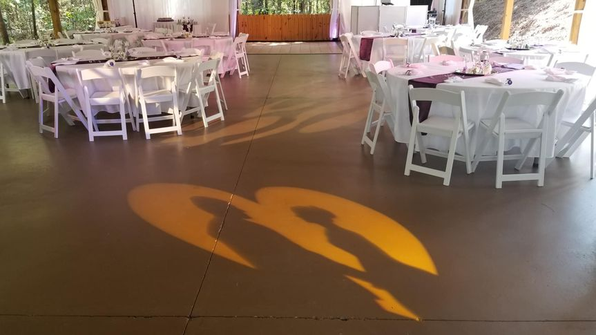 Marlene wedding and custom monogram