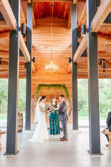 Morgan Creek Barn Wedding Tx