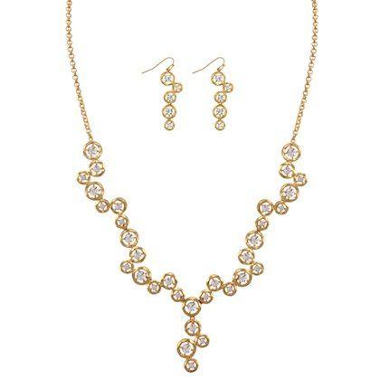 Kaydin Set Item #: 50110 Necklace & Earrings Set