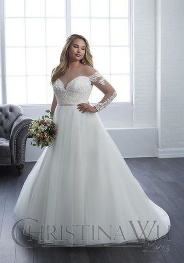 Big ball gown