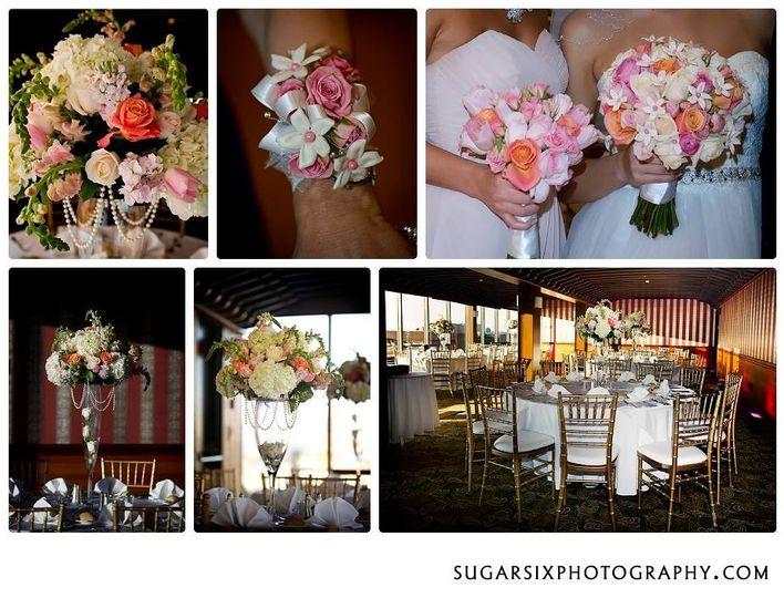 wedding collage sugar six