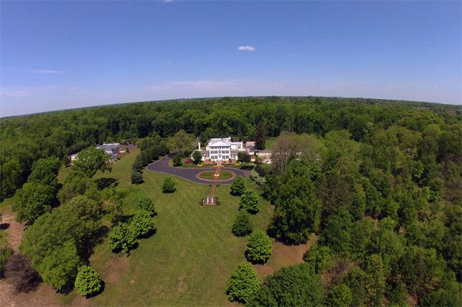 Aerial view of Pen Ryn Estate!