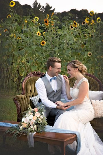 Hitched at Turkey Trac Farms - so in love