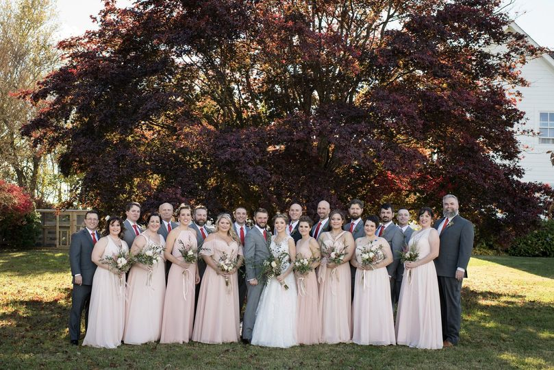 Bridal Party/Japanese Red Mapl