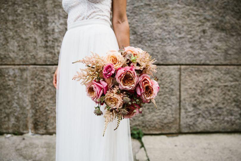 Wedding bouquet | Aaron + Whitney Photography