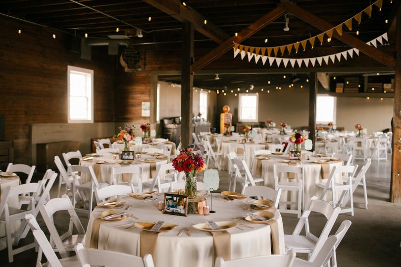Reception setup | Photo: Julie Harmsen