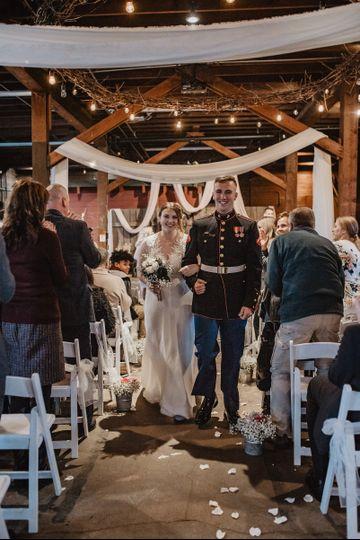 The newlyweds | Photo: Lacey White Photo Co