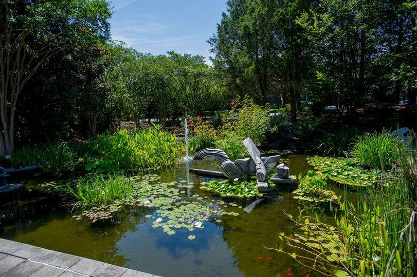 Koi Pond, Hudgens Center
