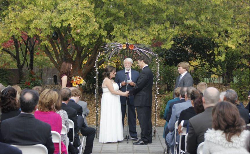 Hudgens Center Garden Wedding