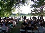 Wedding by the lake.