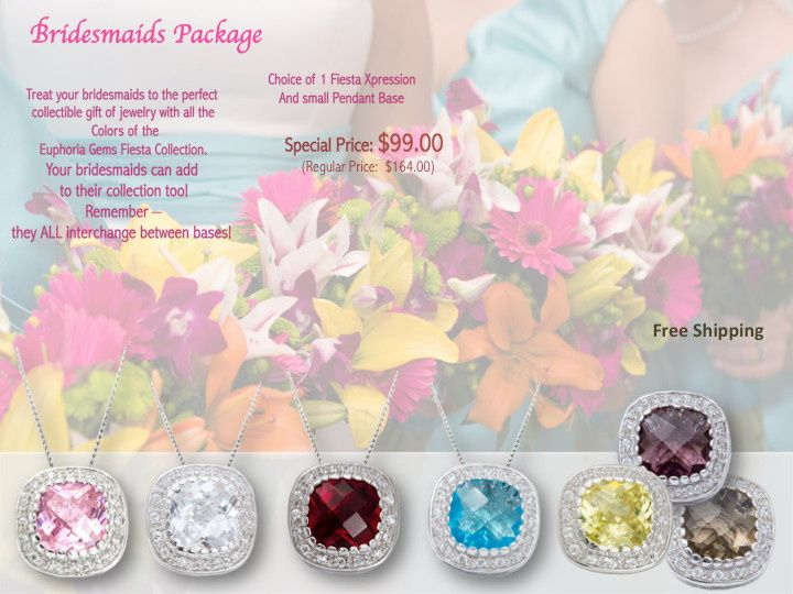brides maid package