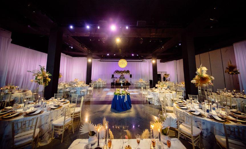 Reception in the Grand Atrium