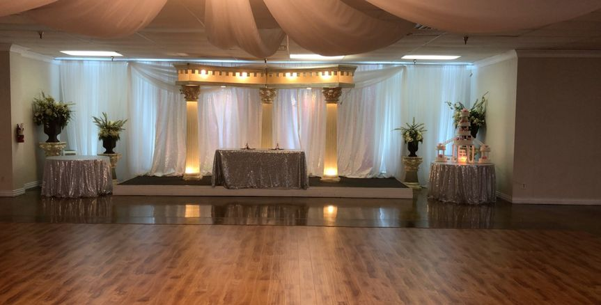 Main wedding area