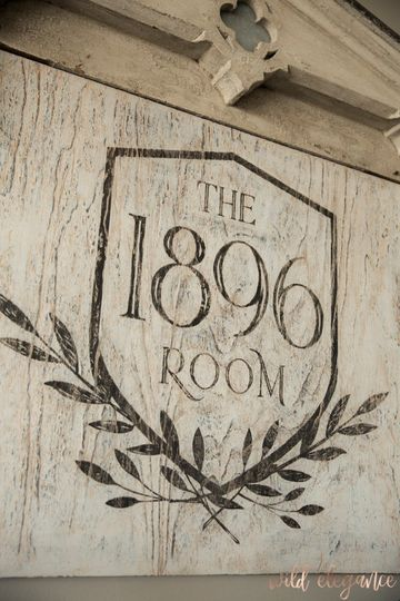 1896 Room located in clubhouse
