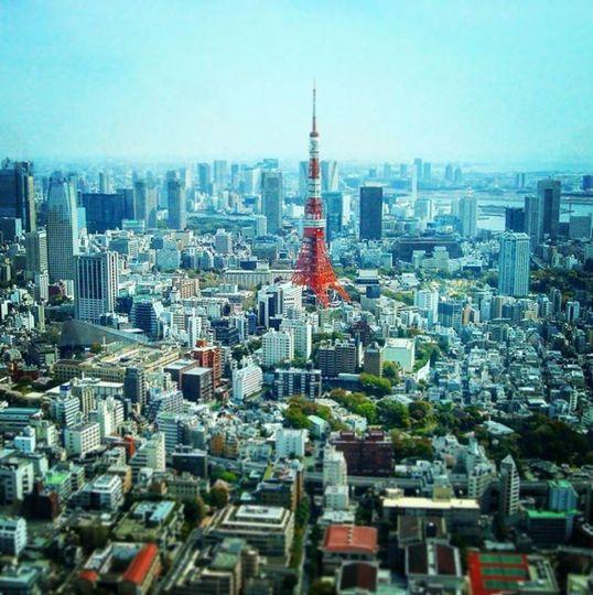 Urban fairy tale in Tokyo