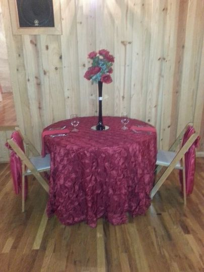 gardner wedding sweetheart table