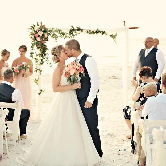 Ceremonial kiss