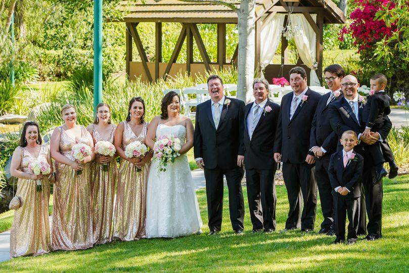 2018 bridal party