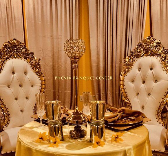 Wedding reception Athena ballroom