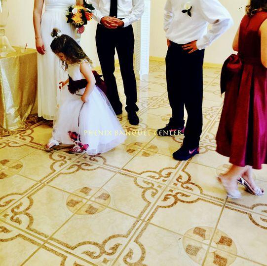 Wedding Party. Foyer