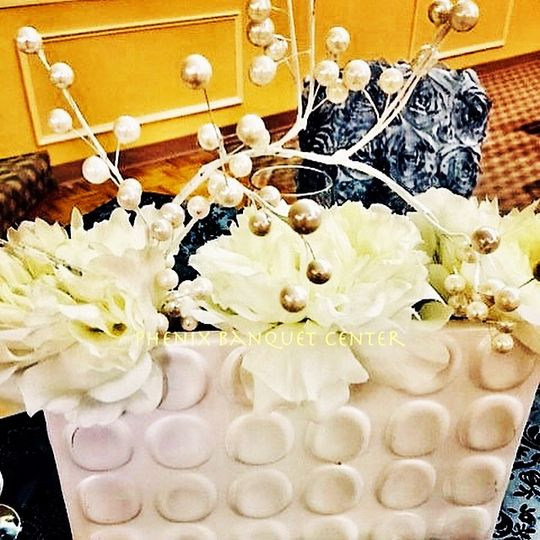 Vintage Centerpiece Decor