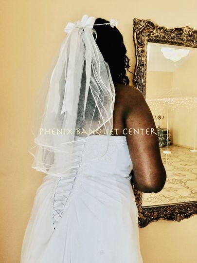 Bride foyer mirror
