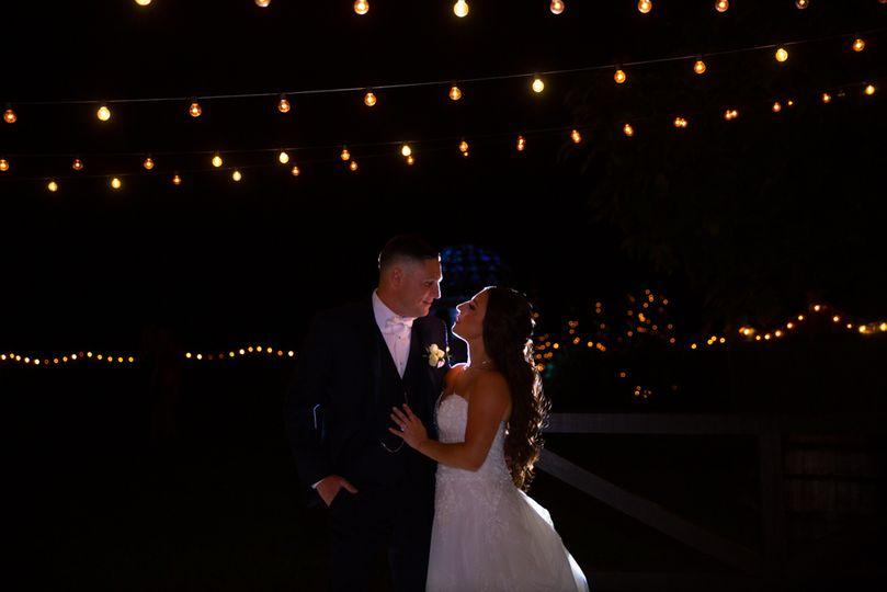 Illuminated under the lights
