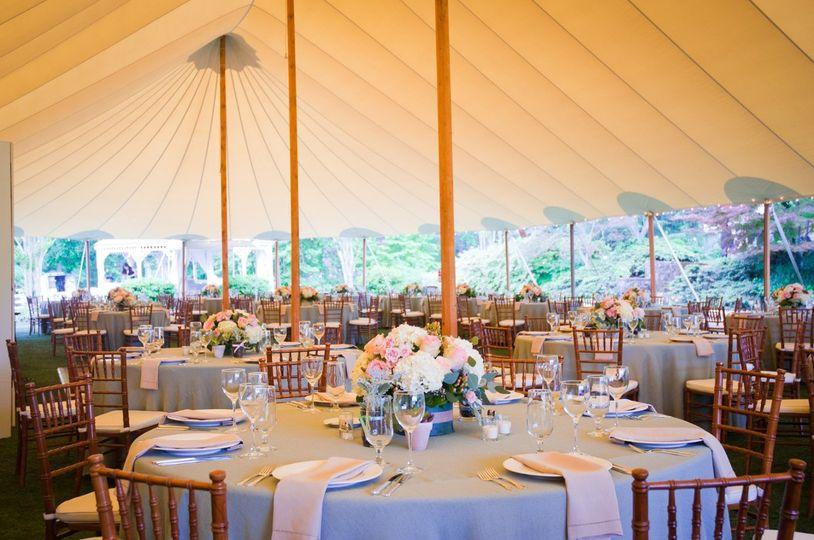 A more simple tent setup