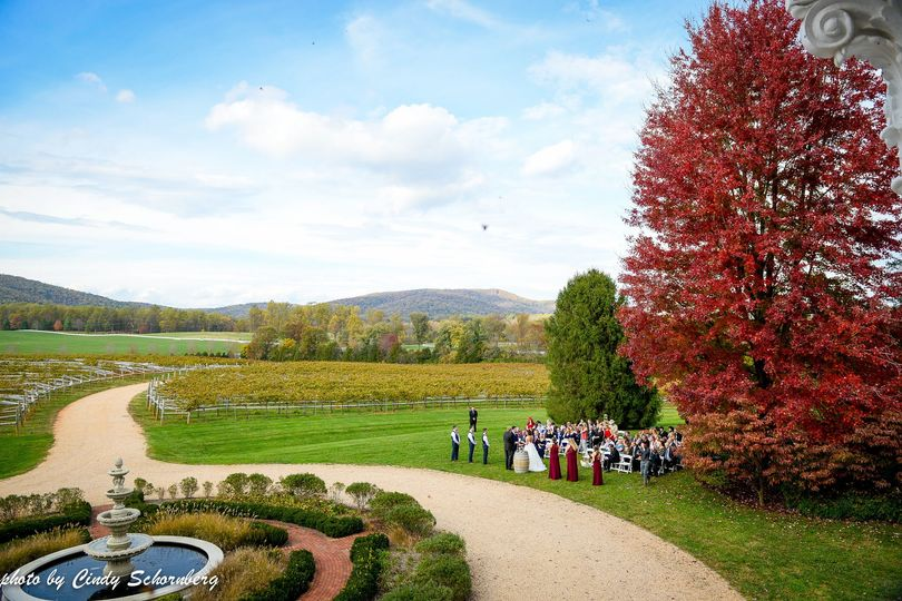 Our stunning fall location