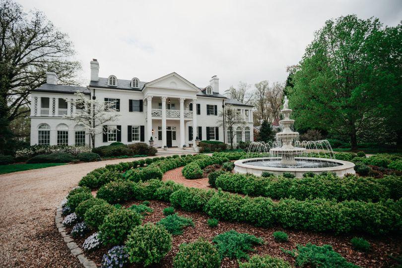 The gorgeous main estate