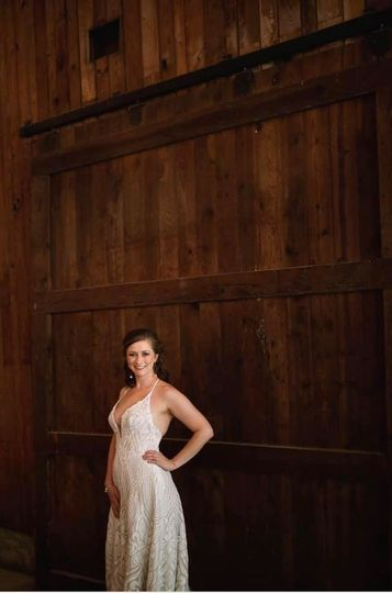 Original oversized barn door