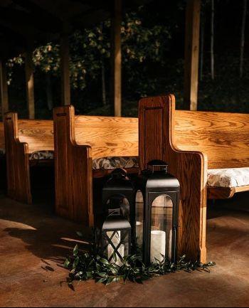 Church pew seating