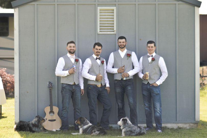 Sandy Backyard Wedding
