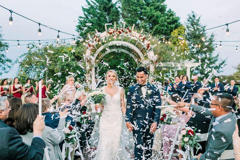 The Vineyards wedding