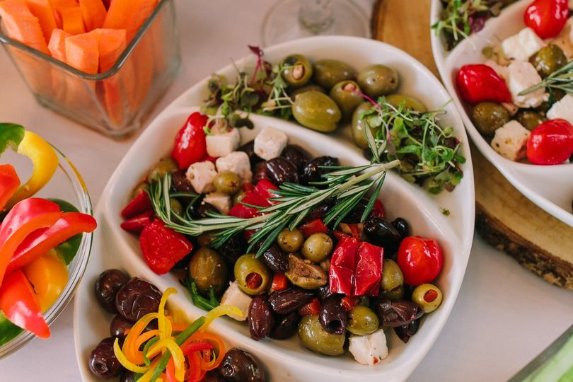 Olive grazing tray