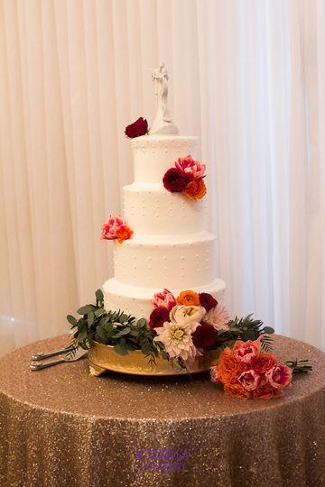 Four Tiered Custom Cake