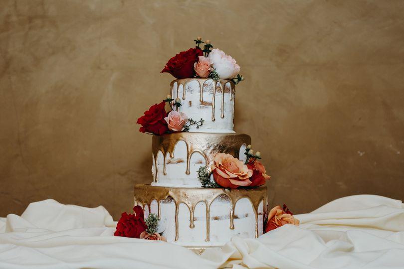 Stunning custom cake