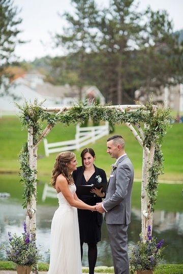 Wedding ceremony | Photo courtesy of Lee Germeroth Photography