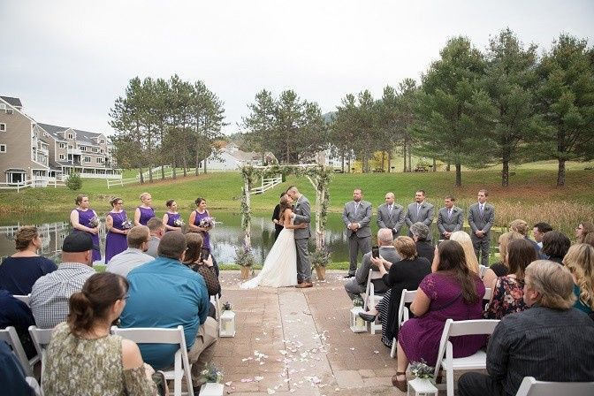 Outdoor wedding | Photo courtesy of Lee Germeroth Photography