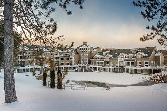 Snow day at the resort