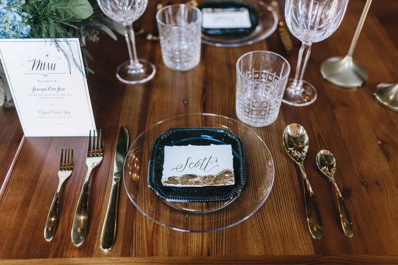 Glorious place setting