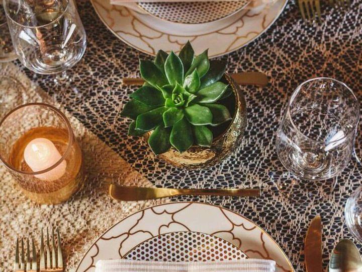Tmx Champagne Stripe Napkin 51 85405 Everett, WA wedding rental